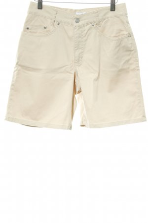 His High-Waist-Shorts sandbraun 90ies-Stil