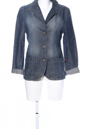 His Jeansjacke blau Casual-Look