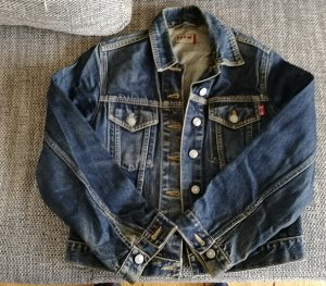 HIS Jeansjacke in Small blau