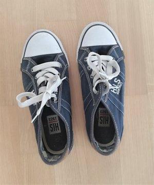 HIS Sneaker in Blau