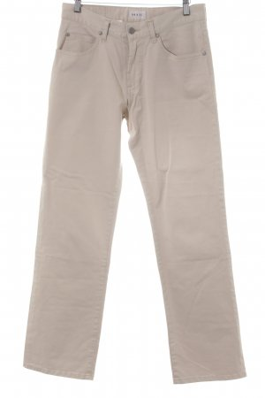His Stoffhose hellgelb-creme Casual-Look