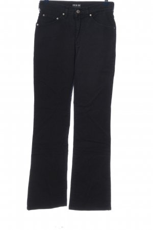 His Stretchhose schwarz Casual-Look