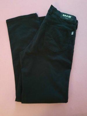H.I.S Pantalone elasticizzato nero-antracite