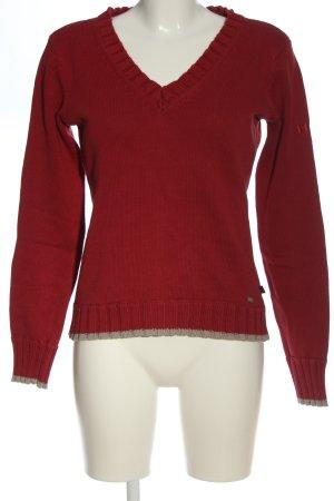 His V-Ausschnitt-Pullover