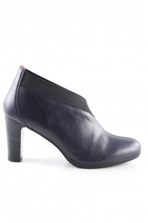 Hispanitas Schlüpf-Stiefeletten blau-schwarz Casual-Look