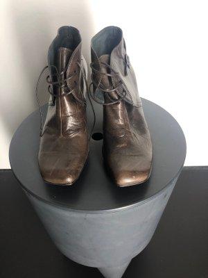 Hispanitas Aanrijg laarzen donkerbruin