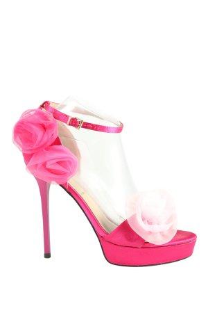 Hit Shoes Riemchenpumps pink Elegant