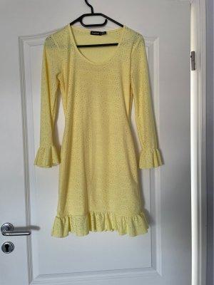Bohoo Robe courte jaune clair