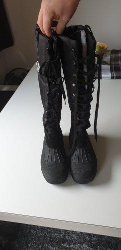 HKM Sports Equipment Stretch Boots black