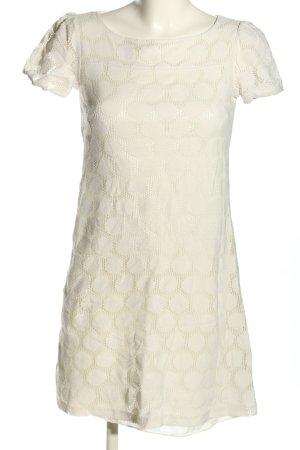 HM A-Linien Kleid weiß Casual-Look
