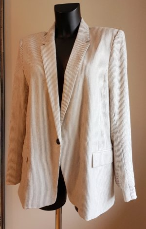 HM Long Blazer multicolored cotton