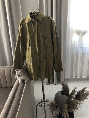 H&M Shirt Blouse olive green