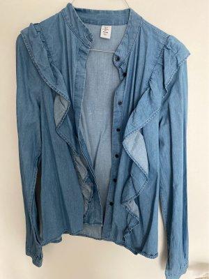 H&M Bluzka jeansowa chabrowy
