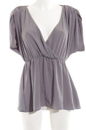 HM Glanzende blouse veelkleurig casual uitstraling