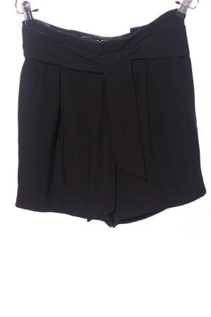 HM High-Waist-Shorts blau Business-Look