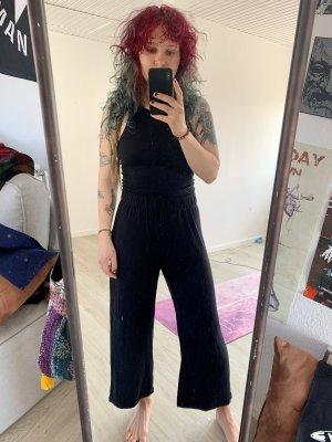 H&M Divided Falda pantalón de pernera ancha negro