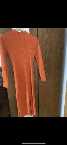 H&M Pencil Dress neon orange