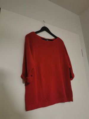H&M Fijn gebreide cardigan rood