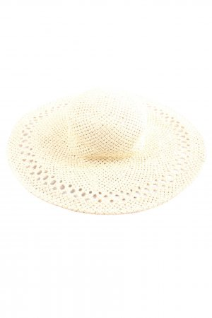 HM Straw Hat cream casual look