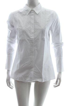Hobbs Langarm-Bluse weiß schlichter Stil