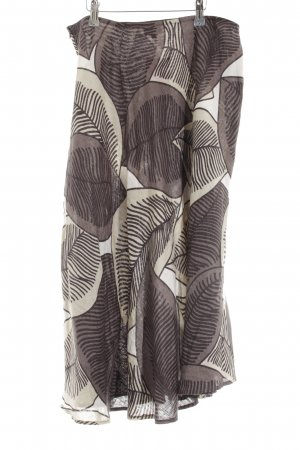 Hobbs Leinenrock abstraktes Muster Casual-Look