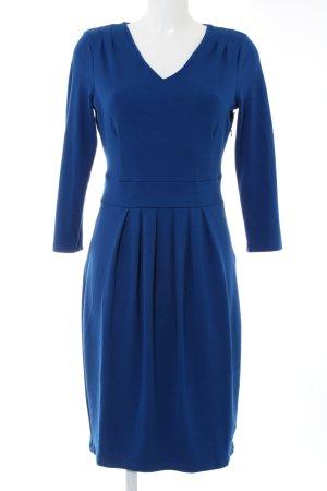 Hobbs Minikleid blau Business-Look