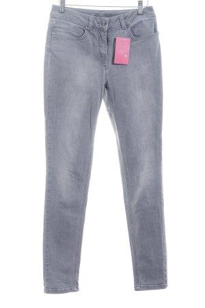 Hobbs Skinny Jeans grau klassischer Stil