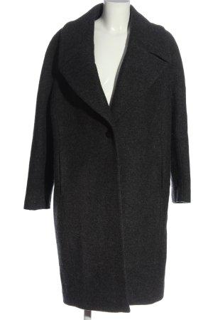 Hobbs Winter Coat light grey flecked casual look