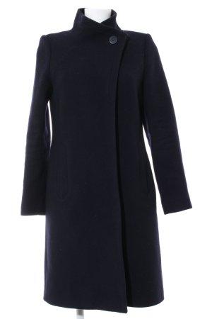 Hobbs Cappotto in lana blu stile professionale