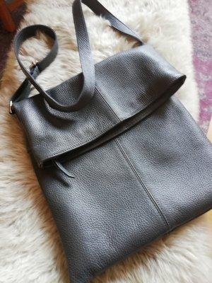 Bolsa Hobo gris oscuro