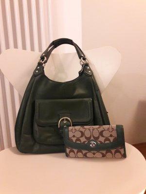Hobo Handtasche von Coach mit Geldbörse