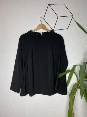 Atmosphere Camisa de cuello de tortuga negro