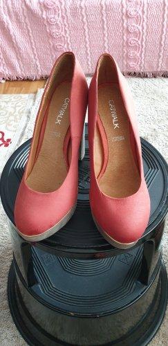 Catwalk Tacco alto color oro rosa