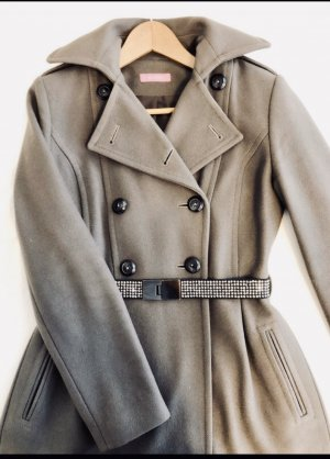 Breuninger Wollen jas grijs-donkergrijs