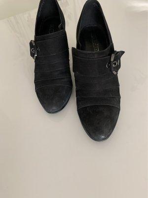 Deichmann Tacones de plataforma negro