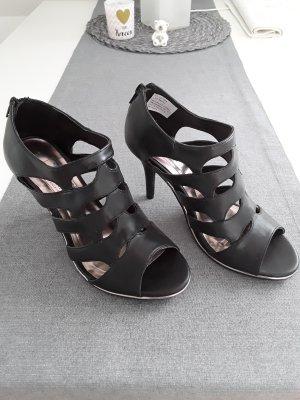 Arizona Chaussure à talons carrés noir faux cuir