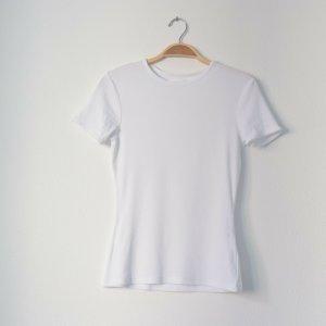 Even & Odd Ribbed Shirt white