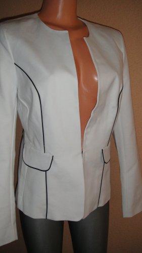 Mohito Blazer en jersey noir-blanc polyester