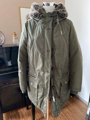 Hilfiger Down Jacket dark green-khaki