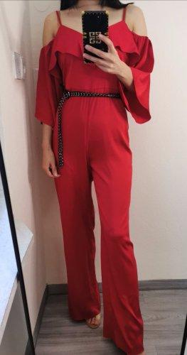 Hochwertig Guess Schulterfrei Schulter Ausschnitten Jumpsuit Kimono