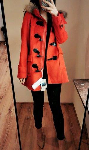 Etam Weekend Wool Coat bright red-red