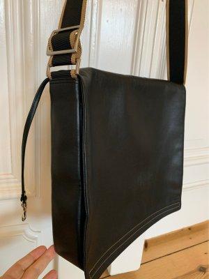 Bree Sacoche d'ordinateur noir cuir