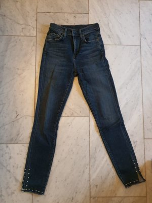 Citizens of Humanity 3/4 Length Jeans dark blue