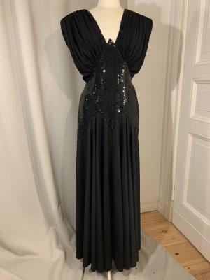 Hochwertige Couture-Robe mit Pailletten von Non Signé