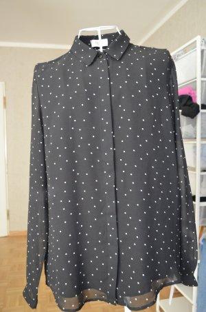 Hochwertige gepunktete Bluse von Axara
