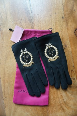 Pretty ballerinas Leather Gloves black leather