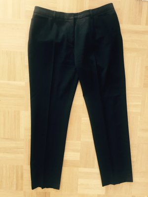 Piazza Sempione Jersey Pants black wool