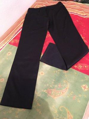 Armani Spodnie materiałowe czarny Elastan