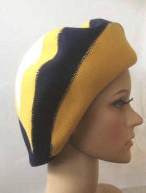 Chapeau en laine multicolore laine