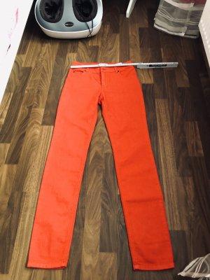 Hochwertige Jeans Hose von OUI 36/S, Stretch / Rot neu